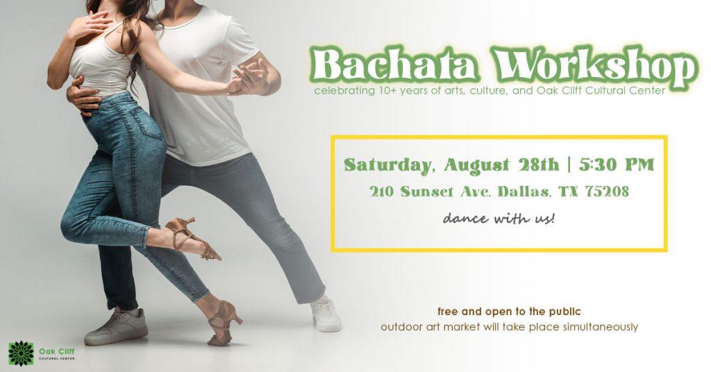 Aug. 28 | Bachata workshop