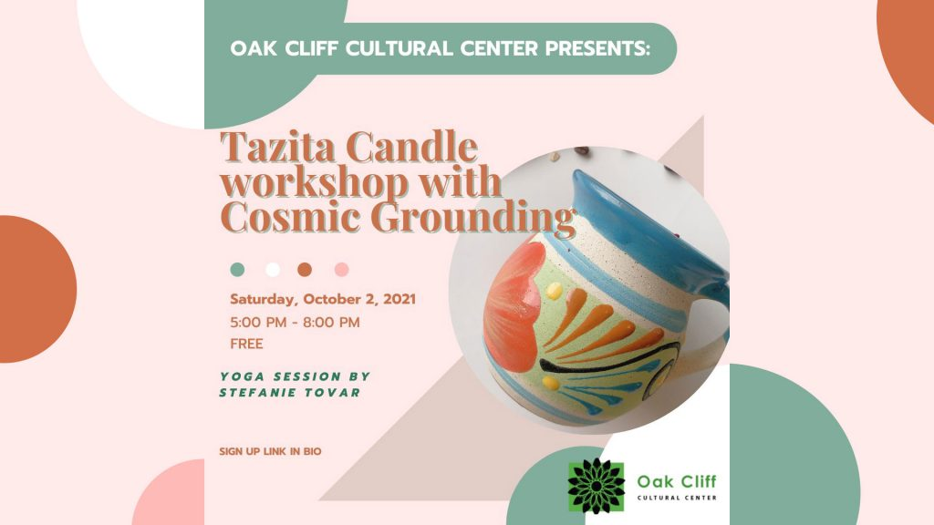 OCT. 2 | Tazita Candle + Yoga workshop